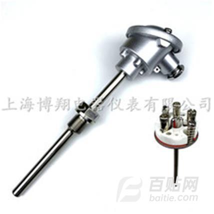 热电阻  上海博翔电器仪表  PT100温度传感器  铂热电阻图片