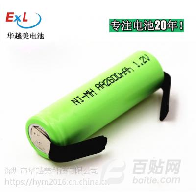 华越美5号镍氢电池高温电池动力电池组低自放电电池AA充电电池厂家图片