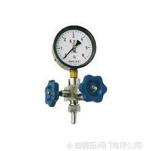 求购J19H-16-320仪表针型阀(含压力表) 仪表针型阀图片
