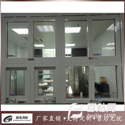 防火窗生产厂家 防火窗 钢制防火窗 隔热防火窗 手动开关 颜色可选图片