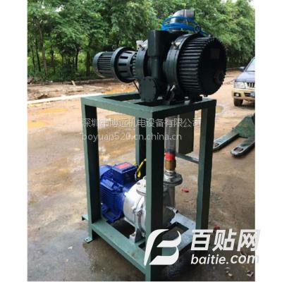 BOYO供应ZJ系列罗茨真空泵ZJ-150、采用机械密封、铸铁材质泵腔镀镍防腐蚀处理图片