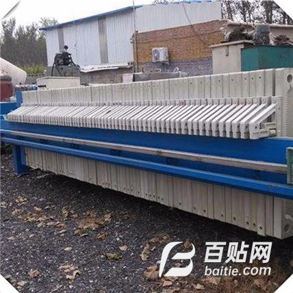 污泥浓缩脱水压滤机 带式压滤机 工业污水处理压滤设备价格图片