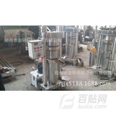 现榨现卖 供应香油加工设备 液压榨油机 芝麻液压香油机代理加盟图片