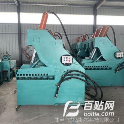 废料处理破碎机械 高效剪切机 全自动液压控制废钢筋剪断机图片