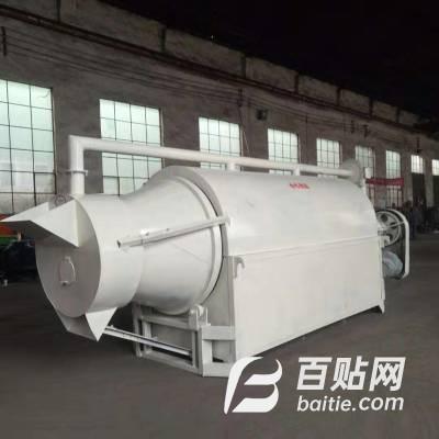 石料厂压滤污泥烘干机 滚筒牧草干燥设备 大型商用炒货机图片
