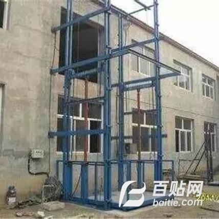 全国各地安装升降货梯  导轨式液压货梯 链条式升降货梯图片