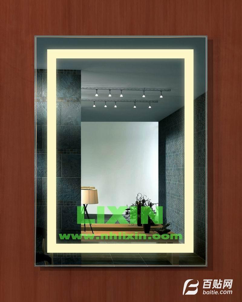 供应LED灯箱防雾镜、高级浴室镜图片