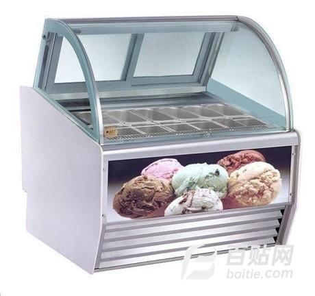 冰淇淋展示柜多少钱-冰淇淋展示柜订做图片