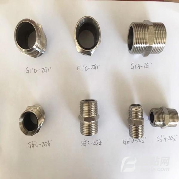 不锈钢接头 胶管接头 橡胶管接头 高压胶管接头 低压胶管接头 缘安厂家都有出售图片