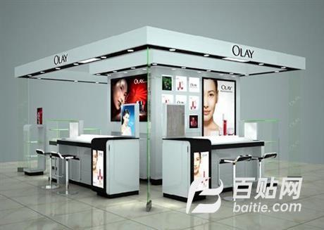 福州化妆品展示柜专柜,好的展示柜图片