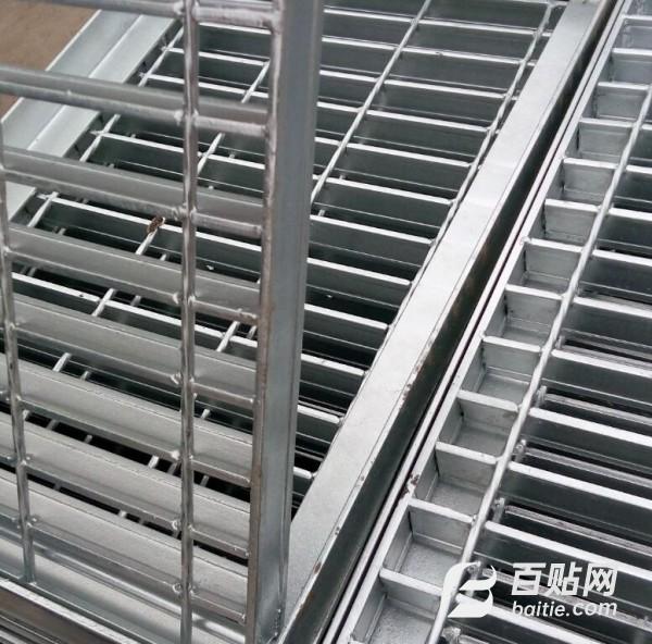 厂家批发Q235镀锌钢格板 耐腐蚀平台踏步板钢格栅板 不锈钢钢格板图片