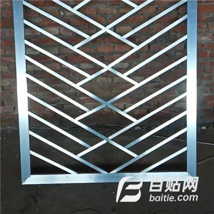河间天鑫 焊接铝格栅 插接铝格栅 按需定做生产 方管焊接铝格栅图片