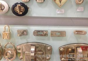 经典箱包五金七件套前幅锁扣 各种锁扣插锁箱包锁 可来样定做图片