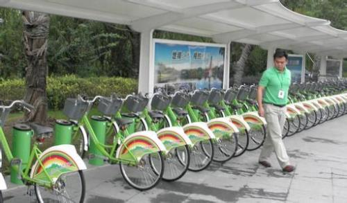 供应马鞍山公共自行车锁止器制造单位图片