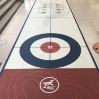 供应鲸舟校园冰棋教学专用赛道租赁图片