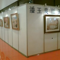 北京标准挂画展板租赁书画展板租赁图片