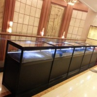 北京精品玻璃展柜租赁八棱柱展柜租赁图片