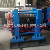 热轧成型钢筋生产线设备 冷热轧钢设备 小型型材轧钢机图片