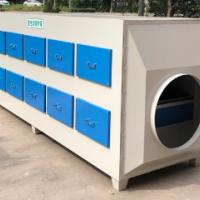 活性炭吸附箱 活性炭废气处理设备 蜂窝活性炭 乐迪环保图片