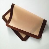 苏州亚胜豪供应食用玻纤硅胶烤垫|硅胶烤盘不粘片图片