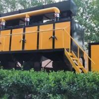 RCO催化燃烧 工业蓄热式废气处理 活性炭吸附脱附设备净化图片
