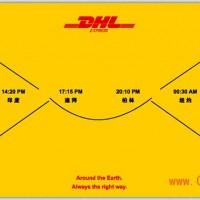 合肥DHL国际快递全球性国际快递公司图片