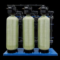 富莱克全自动软化水装置 全自动软化水设备图片