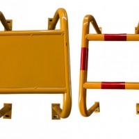 天然气防撞护栏  天然气管道防护栏图片