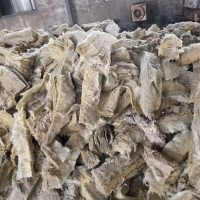工业固废处理、有资质可以开、废旧岩棉处理废旧工业垃圾处理图片