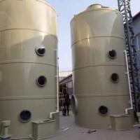 PP阻燃喷淋塔工业酸碱废气处理 酸雾净化塔不锈钢喷淋塔图片