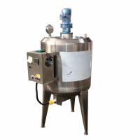 液体搅拌锅搅拌桶厂家桨叶刮壁电加热恒温保温不锈钢搅拌罐图片