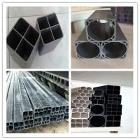 河北外径92单孔栅格管厂家//生产pvc方孔管穿线管图片