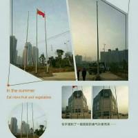 杭州西湖电动风动旗杆电动音乐旗杆外置式旗杆图片