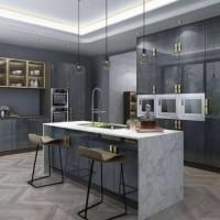 岩板|多层板|木皮版|烤漆|玻璃|不锈钢|铺贴|安装设计服务图片