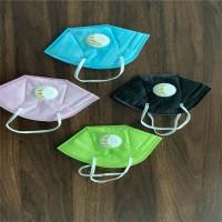 福建厂家供应彩色KN95口罩 多种颜色可定制图片