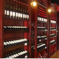 定制红酒柜,不锈钢红酒柜,红酒柜定制工程图片