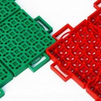 艾力特幼儿园乒乓球场悬浮地板软硬质拼接拼装塑胶地板图片