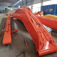 河堤治理挖机加长臂出售 20-40吨挖掘机加长臂图片