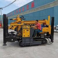 厂家新款气动水井钻机 履带液压气动水井钻机供应图片